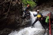 Going down!, Banos, Ecuador