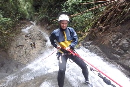 Don't look down!, Banos, Ecuador