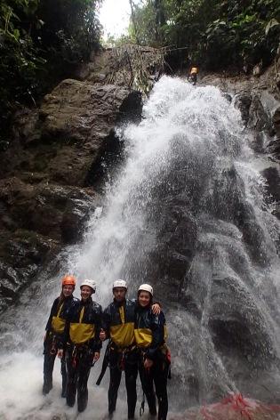 Canyoning, Banos, Ecuador