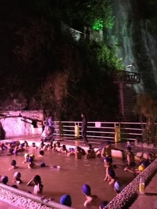 Thermal springs, Banos, Ecuador