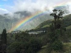 Looking for leprechauns, Banos, Ecuador