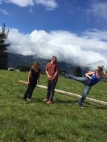 Alan, Emily and I, Banos, Ecuador