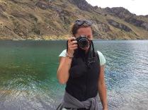 Gotcha!, Laguna Quilotoa, Ecuador