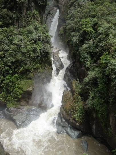 Pailon del Diablo, Banos, Ecuador